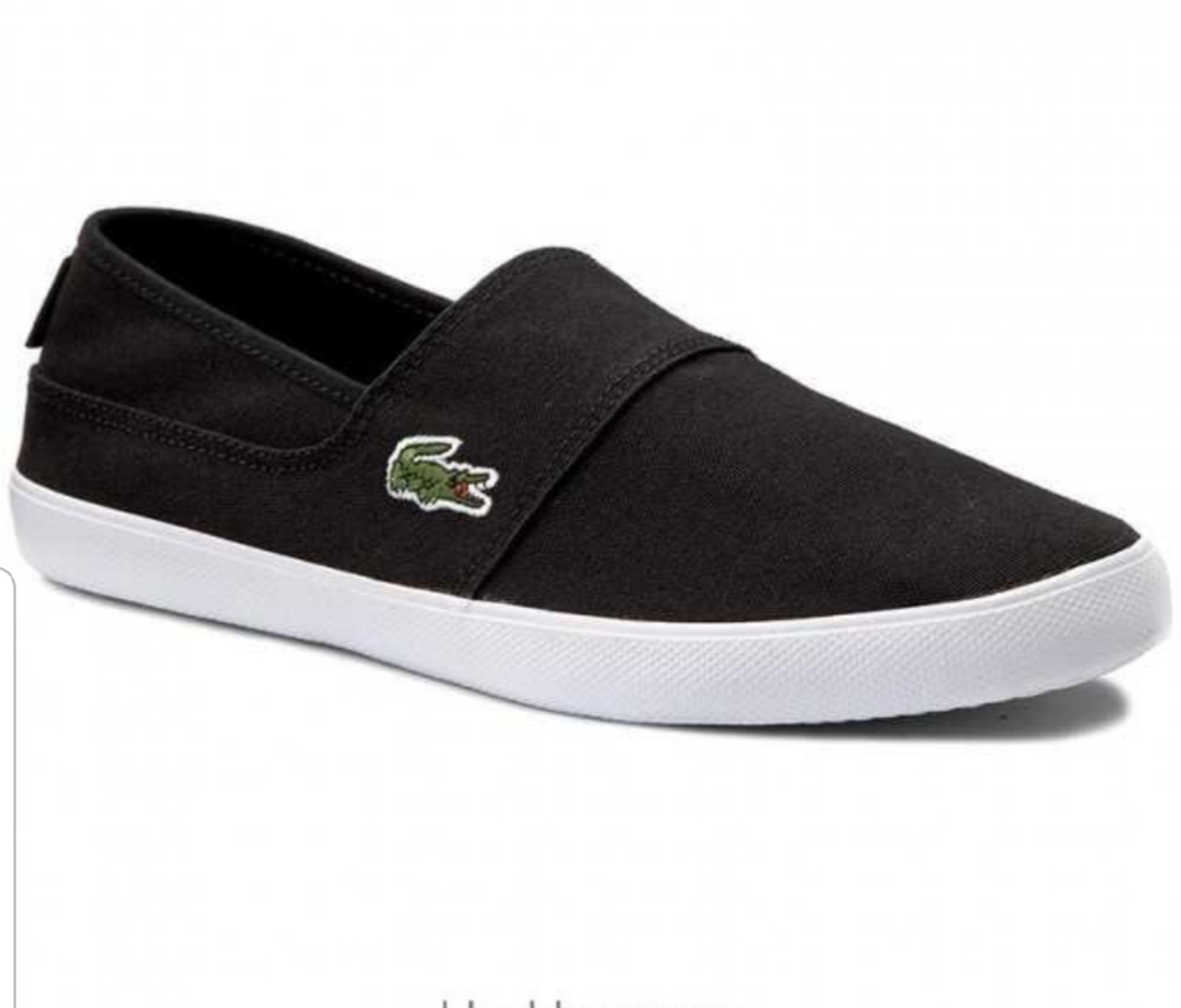 fea02d2967 LACOSTE MENS WOMENS MARICE SLIP ON TRAINERS