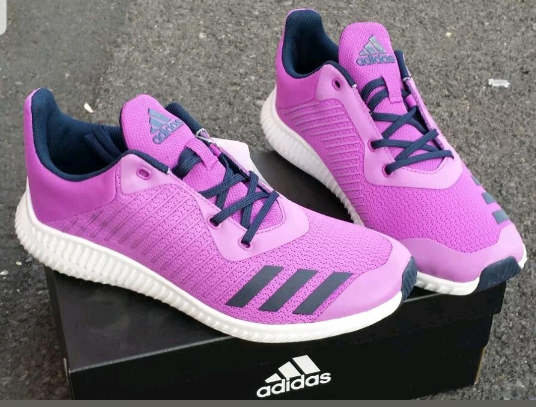 Brand New Junior Girls Women/'s Adidas Fortarun Trainers Various Sizes